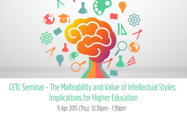 The Malleability and Value of Intellectual Styles: Implications for Higher Education