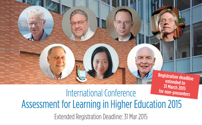 International Conference: Assessment for Learning in Higher Education 2015