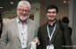 Professor Grahame Bilbow (left) and Dr. Michael Pittman (right) at the Coursera Partners Conference.