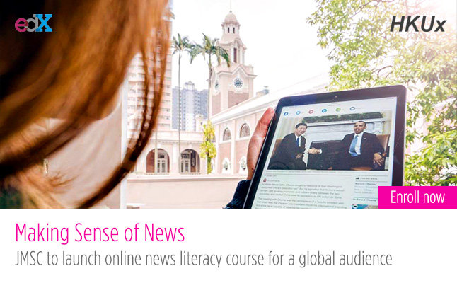 JMSC to launch online news literacy course for a global audience