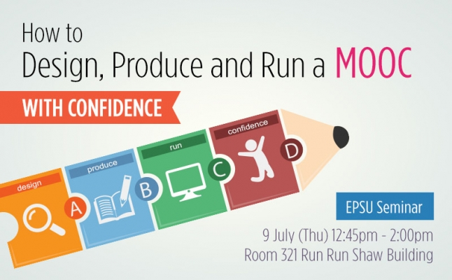 How to design, produce, and run a MOOC with confidence