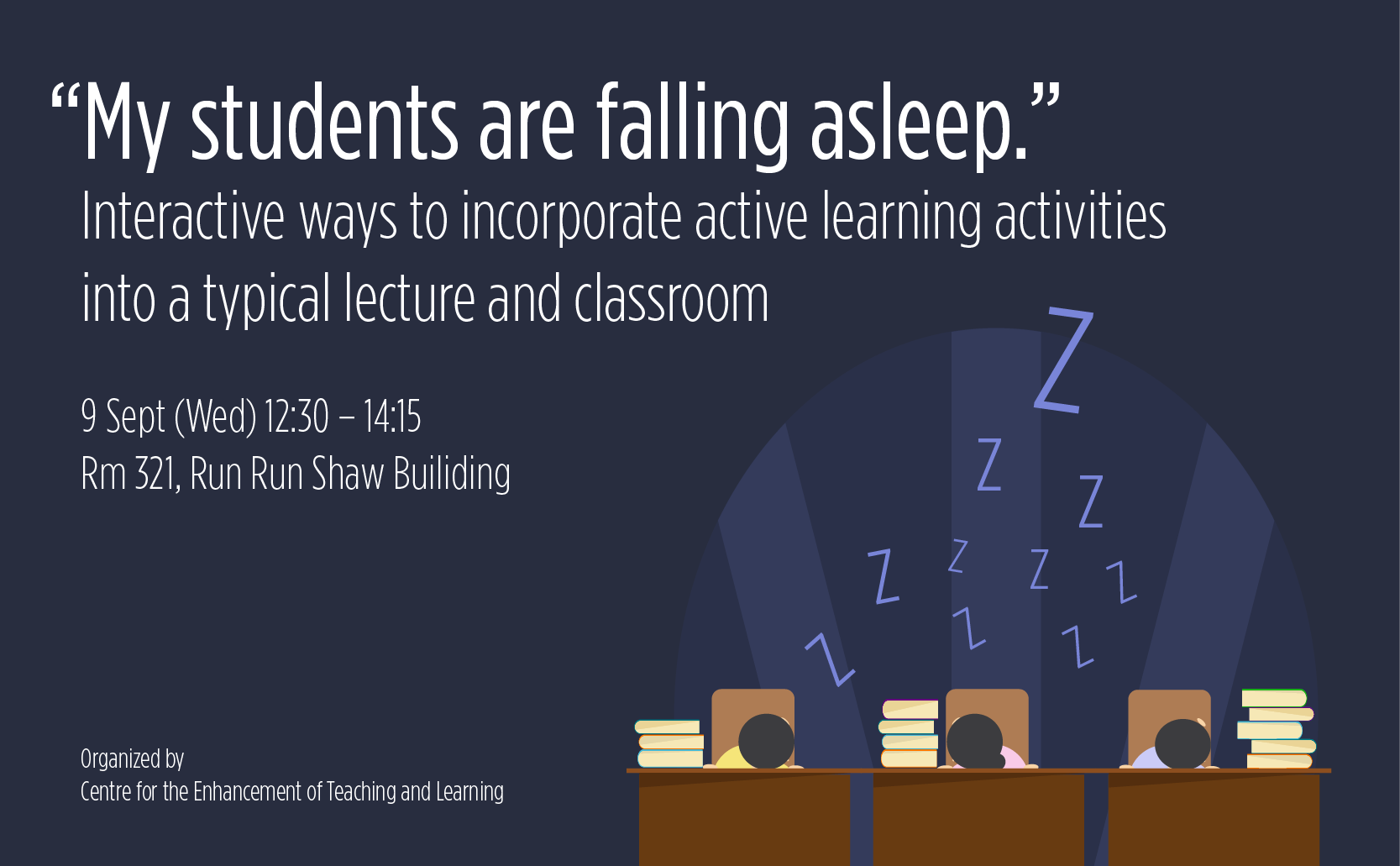 """My students are falling asleep."" – Interactive ways to incorporate active learning activities into a typical lecture and classroom"