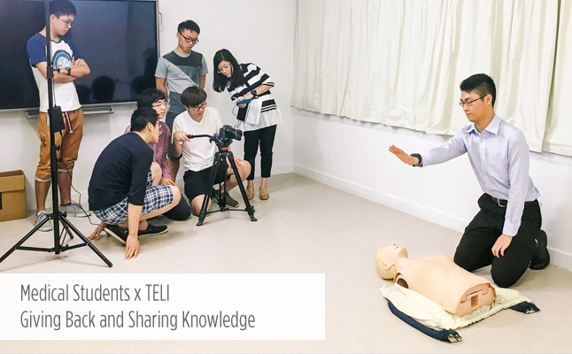 Medical Students x TELI: Giving Back and Sharing Knowledge