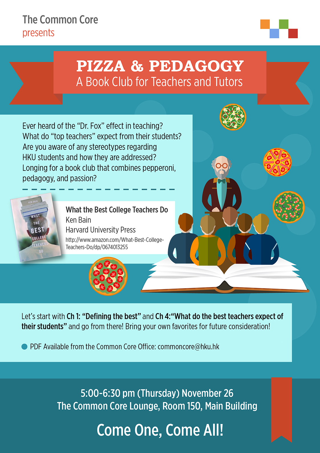 Pizza & Pedagogy