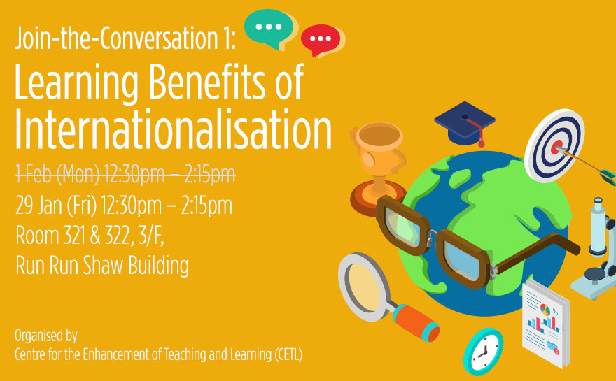Join-the-Conversation 1:  Learning Benefits of Internationalisation