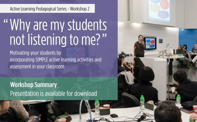 Why are my students not listening to me?
