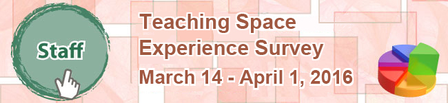 Staff Teaching Space Experience Survey - 2016
