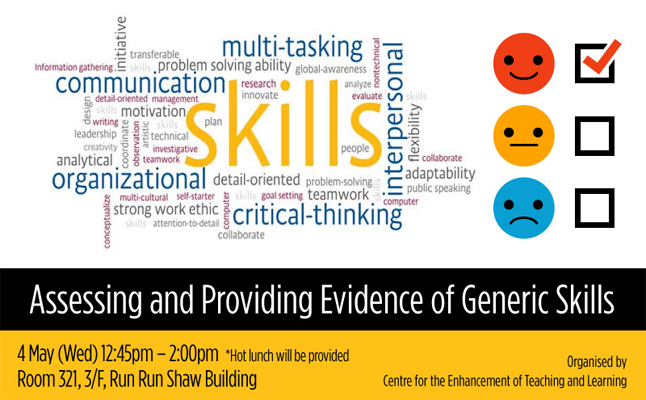 Assessing and Providing Evidence of Generic Skills