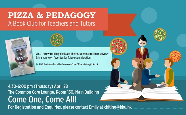 Common Core: Pizza & Pedagogy – A Book Club for Teachers and Tutors