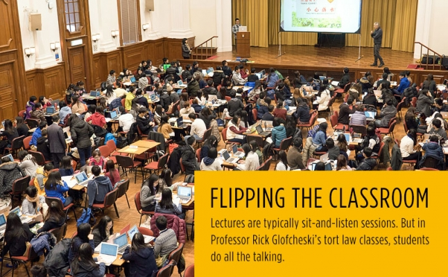 Flipping the classroom – a success story