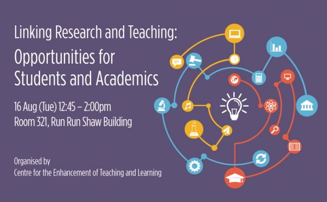 Linking Research and Teaching: Opportunities for Students and Academics