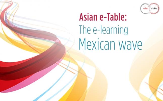 Asian e-table Sllider