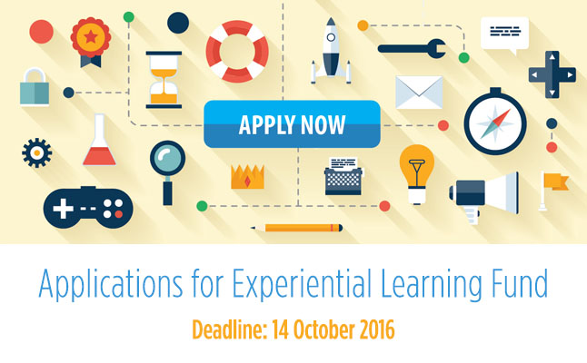 Experiential Learning Fund (Second Round, 2016/17): Call for applications