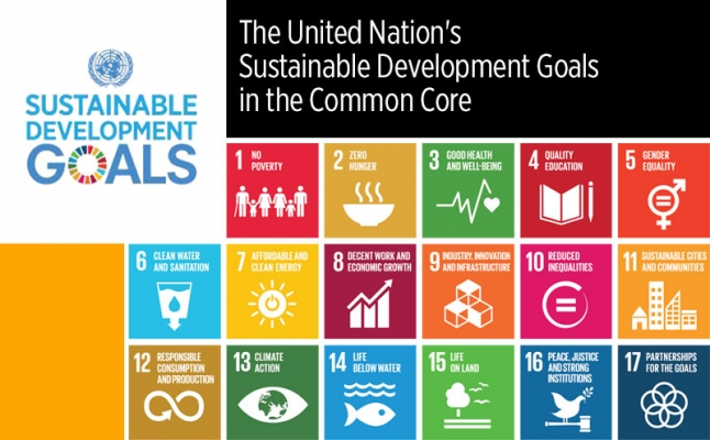 The United Nation's Sustainable Development Goals in the Common Core