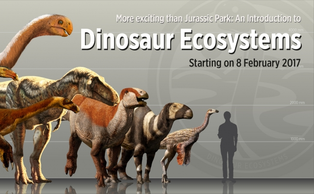 More exciting than Jurassic Park: An Introduction to Dinosaur Ecosystems