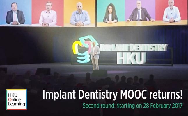 Implant Dentistry MOOC returns!