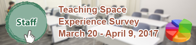 Staff Teaching Space Experience Survey - 2016