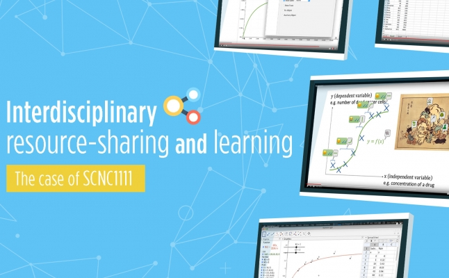 Interdisciplinary resource-sharing and learning: the case of SCNC1111