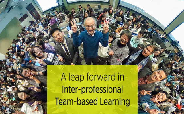 A leap forward in Inter-professional Team-based Learning
