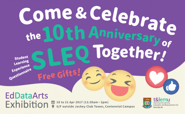 Come and Celebrate the 10th Anniversary of SLEQ Together!