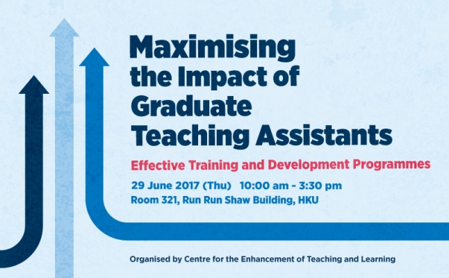 Maximising the Impact of Graduate Teaching Assistants – Effective Training and Development Programmes