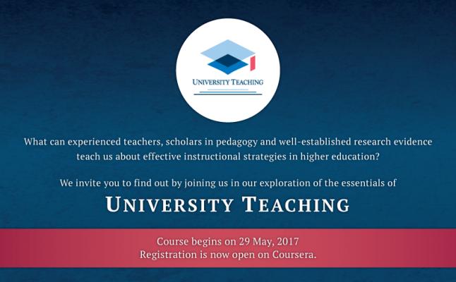 University Teaching MOOC