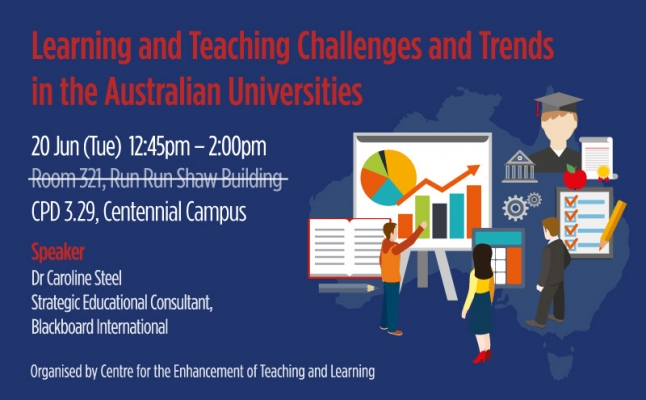 Learning and Teaching Challenges and Trends in the Australian Universities