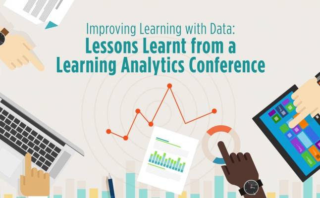 Improving Learning with Data: Lessons Learnt from a Learning Analytics Conference