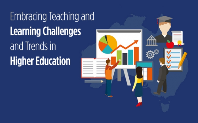 Embracing Teaching and Learning Challenges and Trends in Higher Education