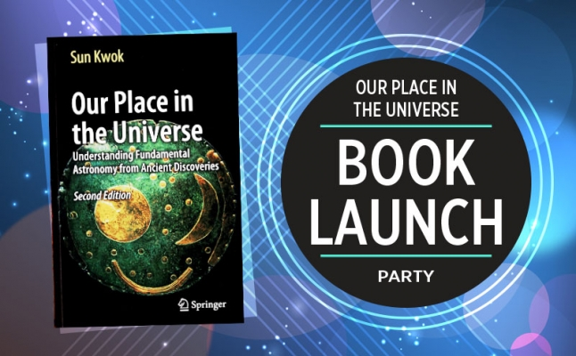 Our Place in the Universe Book Launch Party