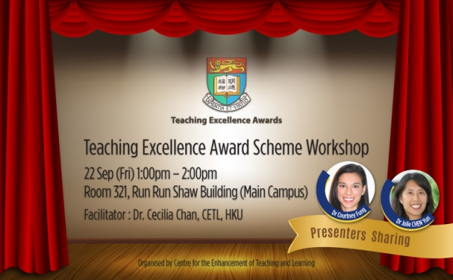 Teaching Excellence Award Scheme Workshop
