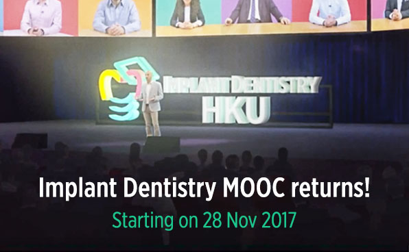 Implant Dentistry MOOC returns!