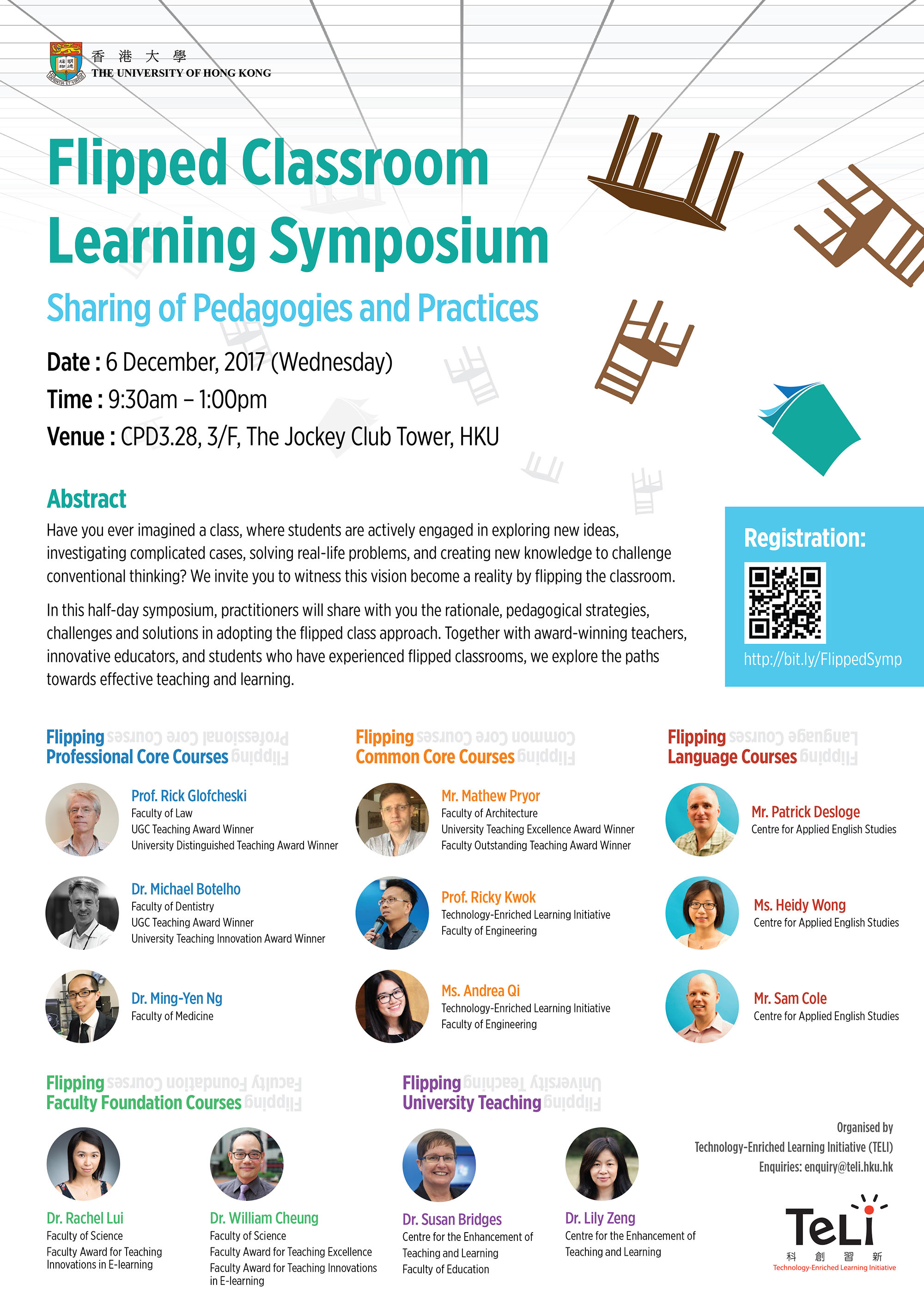 Flipped Classroom Learning Symposium banner