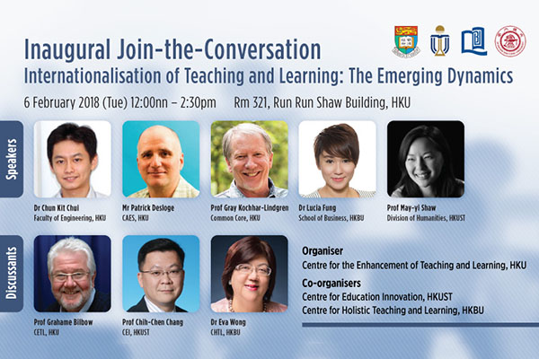 Inaugural Join-the-Conversation Internationalisation of Teaching and Learning: The Emerging Dynamics
