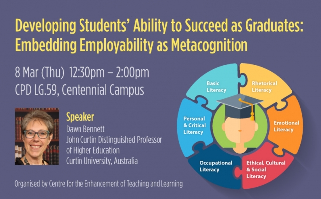 Developing Students' Ability to Succeed as Graduates: Embedding Employability as Metacognition