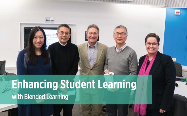Enhancing Student Learning with Blended Learning