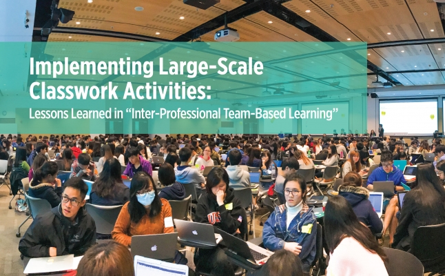 """Implementing Large-Scale Classwork Activities: Lessons Learned in """"Inter-Professional Team-Based Learning"""""""