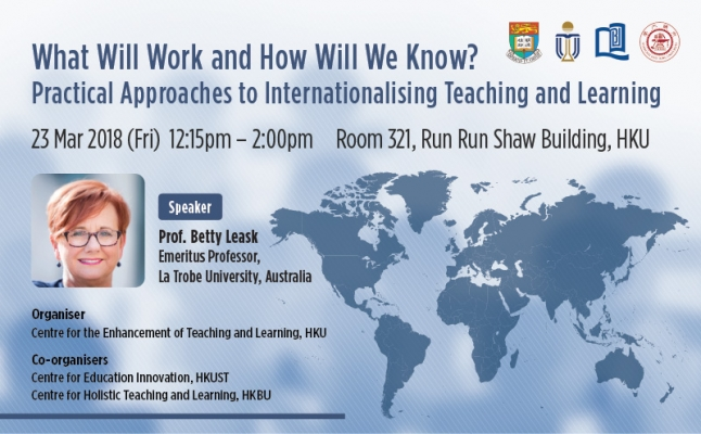 What Will Work and How Will We Know? Practical Approaches to Internationalising Teaching and Learning