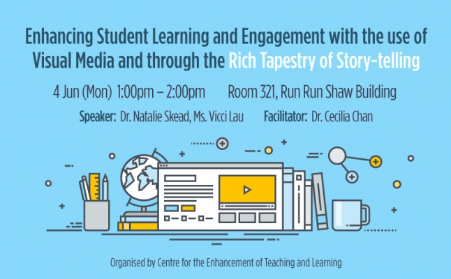 Enhancing Student Learning and Engagement with the use of Visual Media and through the Rich Tapestry of Story-telling