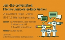 Join-the-Conversation: Effective Classroom Feedback Practices