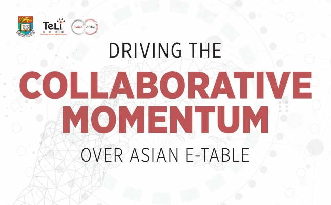 Driving the Collaborative Momentum over Asian e-Table
