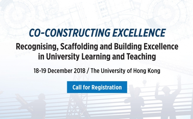 Co-Constructing Excellence- Recognising, Scaffolding and Building Excellence in University Learning and Teaching