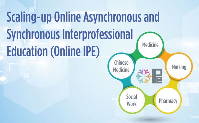 Scaling-up online asynchronous and synchronous interprofessional education (Online IPE)