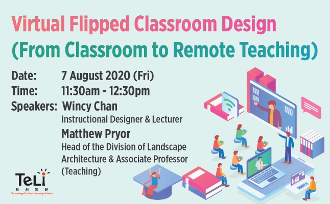 Virtual Flipped Classroom Design (From Classroom to Remote Teaching)