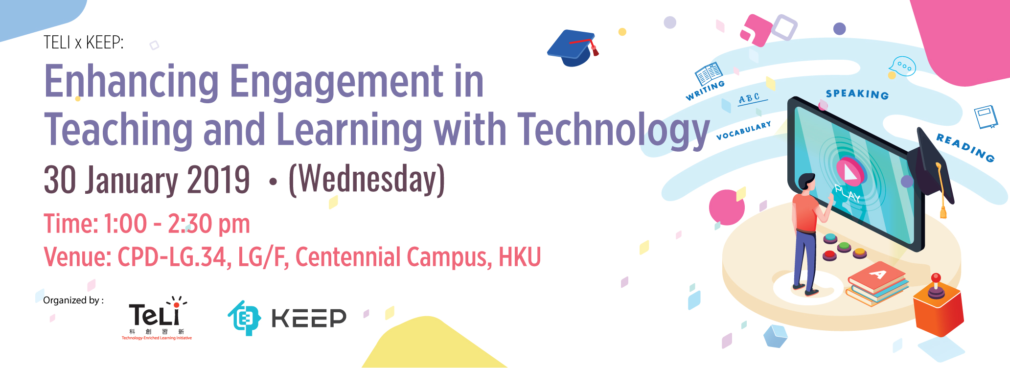 TELI X KEEP: Enhancing Engagement in Teaching and Learning with Technology