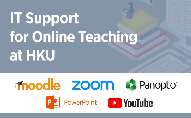 IT Support for Online Teaching at HKU