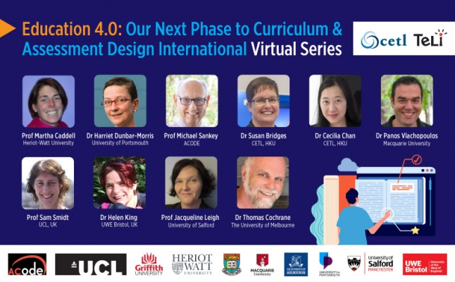 Education 4.0: Our Next Phase to Curriculum and Assessment Design International Virtual Series