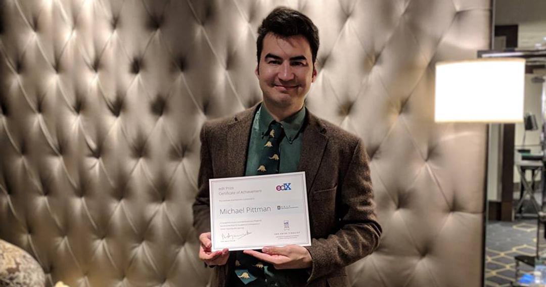 edX prize finalist