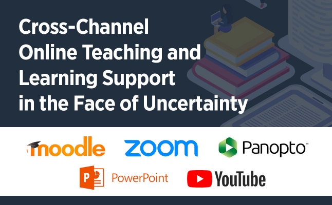 Cross-Channel Online Teaching and Learning Support in the Face of Uncertainty