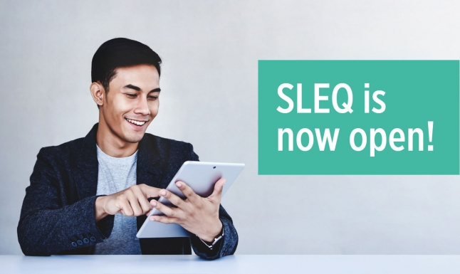 2020-21 Student Learning Experience Questionnaire (SLEQ) is now open!